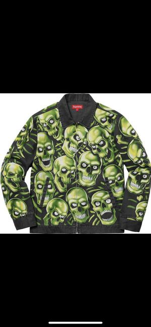 Supreme Skull Pile Work Jacket Small for Sale in Peoria, AZ