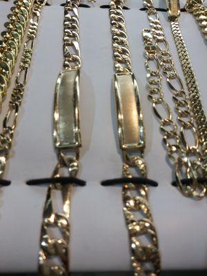 14k gold men bracelets we finance for Sale in Pomona, CA