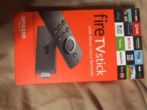 Amazon firestick with Alexa with kodi 17.1 for Sale in Las Vegas, NV