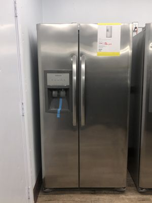 NEW SIDE BY SIDE REFRIGERATOR NEW FRIDGE 90 DAYS WARRANTY for Sale in Dallas, TX