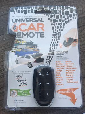 Universal car remote for Sale in Irving, TX