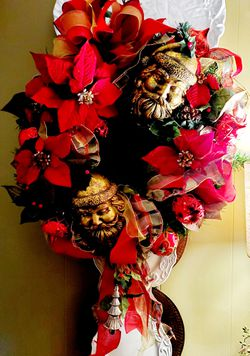 Santas Splendor Wreath for Sale in Whitehouse,  TX