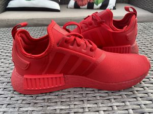 Adidas NMD R1 red sneakers size 8.5 for Sale in Kissimmee, FL