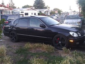 LEXUS GS300** LOW MILES** BLACK ON TAN INTERIOR**COME TAKE IT OFF MY HANDS TODAY for Sale in Oakland, CA