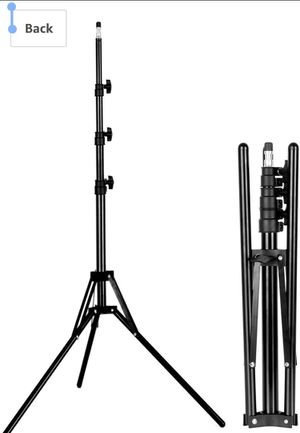Tripod Light Stand Photography Portable Lightweight 182cm/6ft Adjustable Photo Studio Tripod for Reflector Softbox Umbrella Video Shooting for Sale in Claremont, CA