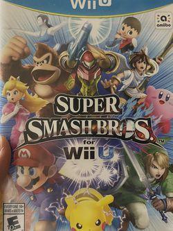 Súper Smash Bros. Wii U for Sale in Mountlake Terrace,  WA
