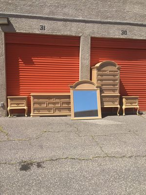Beautiful Solid Wood Bedroom Furniture 🧨 Free Delivery 🧨🚚 for Sale in Las Vegas, NV