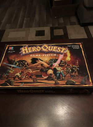 Heroquest board game for Sale in Graham, WA
