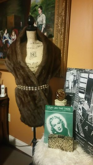 Chic Real Mink Fur Shawl by Graf's Furs, La Jolla for Sale in San Diego, CA