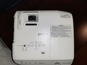 Epson Projector 965H for Sale in Greenville, SC