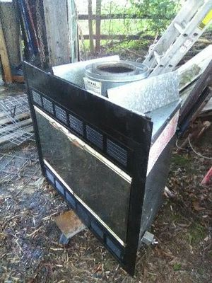 Wood fireplace with blower for Sale in West Monroe, LA