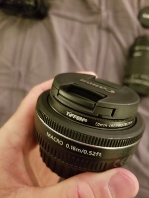 Canon EFS 24mm, great shape. for Sale in Fullerton, CA