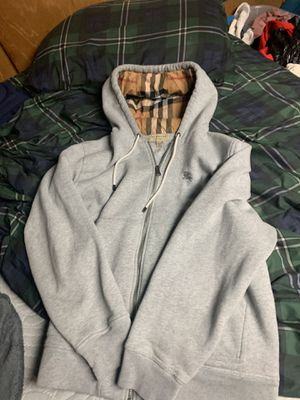 Burberry Hoodie for Sale in Redford Charter Township, MI