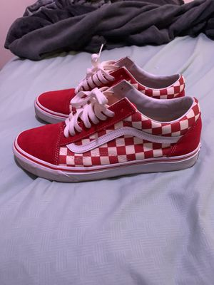 Red Check Vans 🔥 for Sale in Sanford, FL