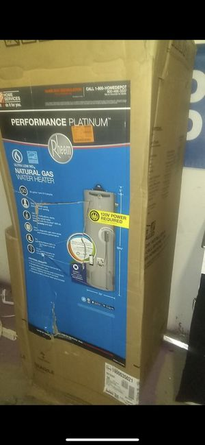 Rheem water heater performance platinum!! Includes installation for Sale in Pasadena, CA