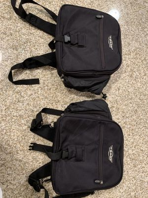 T-bag brand Motorcycle luggage two bags for Sale in Sioux Falls, SD
