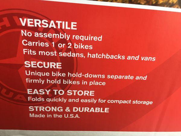 Bike Rack For Car - Brand New