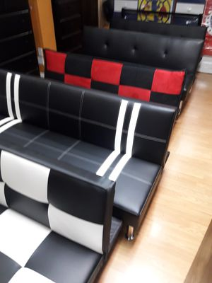Gorgeous beautiful futon sofa bed furniture for Sale in Riverside, CA