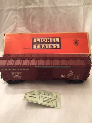 1950s Lionel Minneapolis and St Louis Boxcar for Sale in Centreville, VA