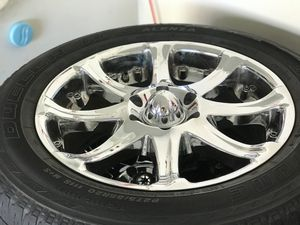 """Panther Six Lux Chrome 20"""" Rims for Sale in Lorton, VA"""