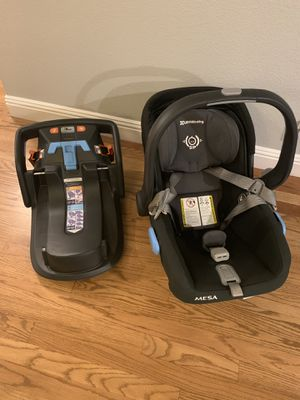 UPPAbaby Mesa infant car car seat and base for Sale in Las Vegas, NV