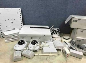 Home security equipment lot, cameras , motion detectors , control panels.. etc for Sale in Delray Beach, FL