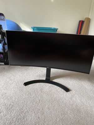 LG Ultra Wide Curved Monitor for Sale in Columbia, MD