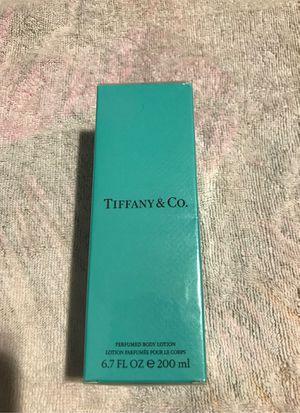 Tiffany Perfumed Body Lotion 6.7 oz for Sale in Portland, OR