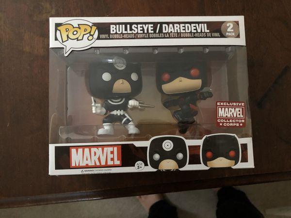 Bullseye/daredevil Funko