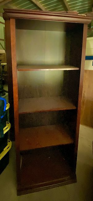 Bookshelf / cabinet / storage / shelving- MUST PICK UP TODAY SATURDAY Jan18 for Sale in Spring, TX