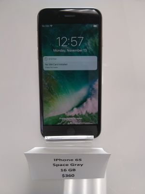 Apple iPhone 6S 16GB Space Gray for Sale in Houston, TX