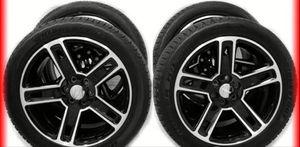 "NEW 2015 24"" GMC YUKON SIERRA DENALI CHEVY SILVERADO TAHOE BLACK WHEELS CK160 20 Package deal 1799.00 Best Tires 📍33733 Groesbeck Hwy Fraser, MI for Sale in Sterling Heights, MI"