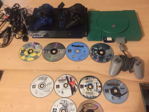 PlayStation 1&2, W/ 10 Games for Sale in Elgin, IL