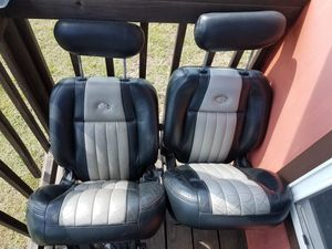 Make offer Ford F150 Harley Davidson Rear seats and center console Make offer for Sale in Maxwell, TX