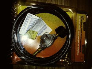 12 Foot Propane Hose Assembly With Regulator for Sale in Chicago, IL