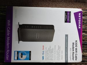 Netgear n300 wifi cable modem router for Sale in NJ, US