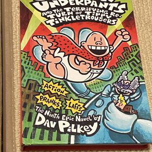 Captain underpants and the terrifying return of tippy tinkle trousers $6 for Sale in Tampa, FL