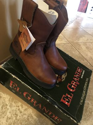 Bonanza work boots New for Sale in Valley Home, CA