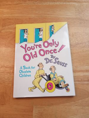You only old once by dr. Seuss hardback book for Sale in Portsmouth, VA