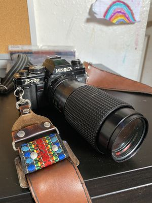MINOLTA X-700 and Canon FTb and lenses for Sale in Santa Ana, CA