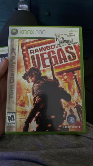 Tom Clancy's rainbow six Vegas Xbox 360 video game for Sale in Braintree, MA