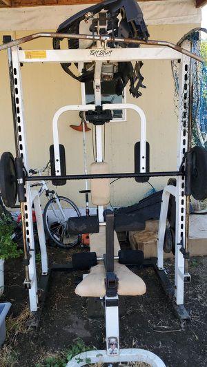 Tuff Stuff Smith Machine + bench + 300 lbs for Sale in Elk Grove, CA