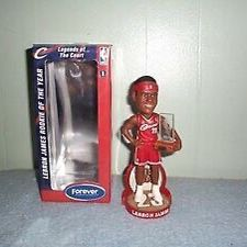 Lebron James Cavaliers Forever Collectibles 2004 Rookie Of The Year Bobblehead Brand New for Sale in Los Angeles, CA