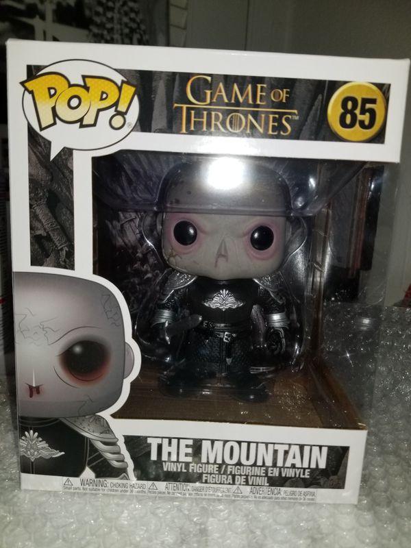 The Mountain Game of Thrones Funko Pop