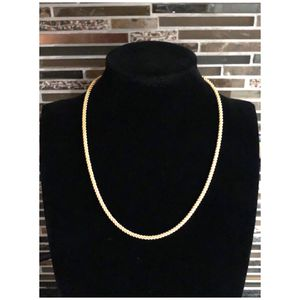 Aurafin 14KT Yellow Gold Twisted Rope Spiral Chain Necklace for Sale in Naperville, IL