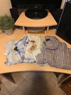 Lot of 4 Men's Dress Shirts- sz 4XL for Sale in Pasco, WA