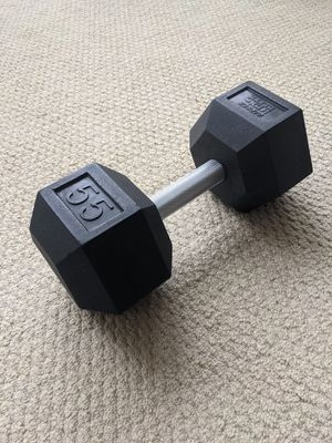 55 lb dumbbell for Sale in Arlington, VA