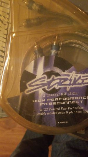 Strike Car Audio 2 Channel High Performance InterConnect. for Sale in Chesapeake, VA