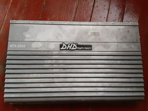 Dhd 250x4 2000w max powerful amp for Sale in Philadelphia, PA