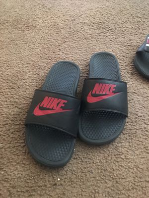 Nike slides size 10 for Sale in Houston, TX